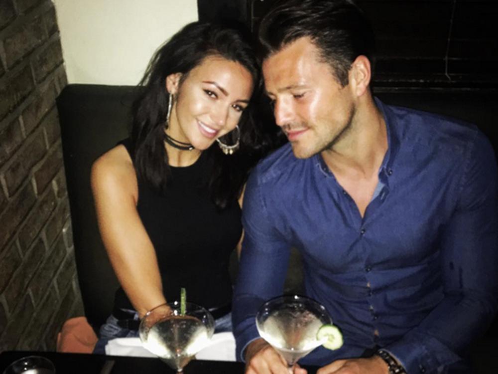 Michelle Keegan Helps Mark Wright Celebrate His 31st Birthday
