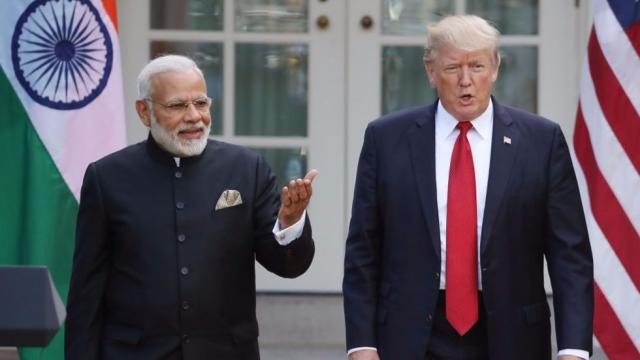 Trump known to use an Indian accent to imitate India's prime minister: report https://t.co/NyJyq4sVf8 https://t.co/l2ZlNsQS5s