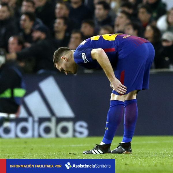 [COMUNICADO MÉDICO] Toda la información de la lesión de @thomasvermaelen, aquí �� https://t.co/Z5FJb8ezMy #FCBlive https://t.co/eknvui8vF4