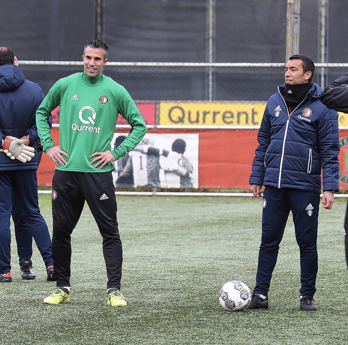 test Twitter Media - 📸 | F i r s t  T r a i n i n g ⚽️✔️  ➡️ https://t.co/TXqbyKCNKu  #RVPISBACK #Feyenoord https://t.co/eLdmKqFpm1