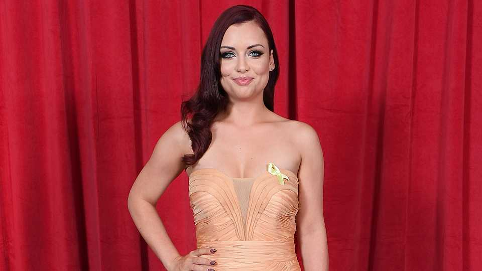 Congrats! EastEnders star Shona McGarty is