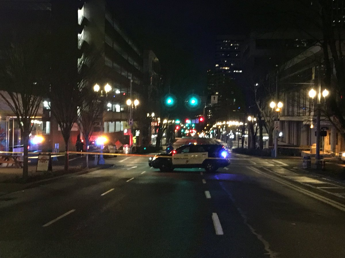 Police activity blocks streets, disrupts transit in downtown Portland