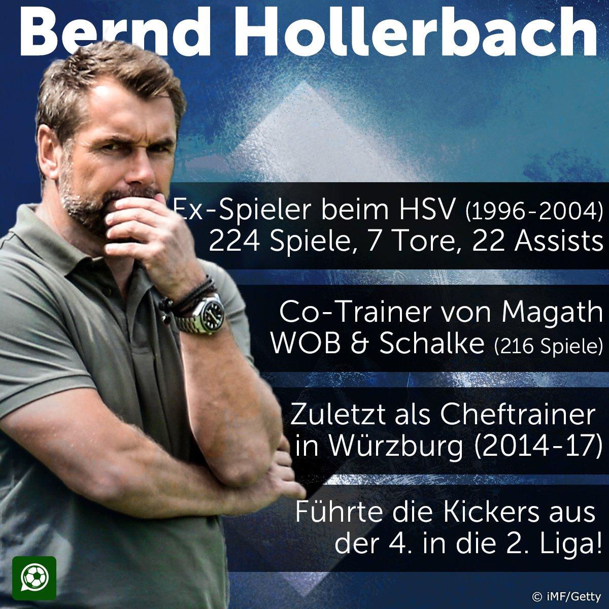 Es ist vollbracht! Der #HSV hat #Hollerbach jetzt offiziell bestätigt https://t.co/PNhRLSl5Pr