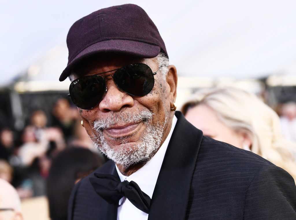 Why did Morgan Freeman wear a hat at the 2018 SAGAwards? Because he's Morgan Freeman: