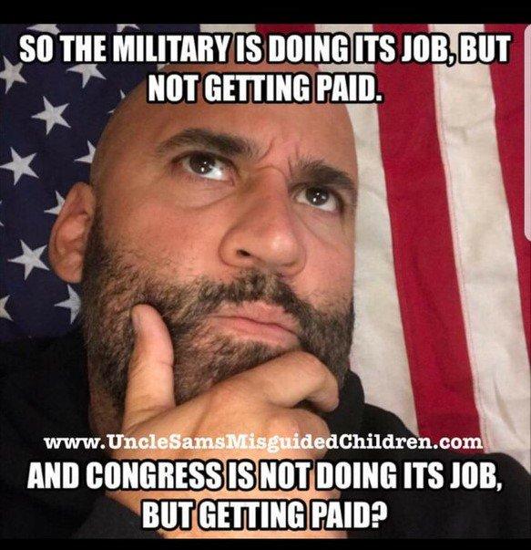 Stop paying Congress/Democrats. #morningjoe #SchumerShutdown https://t.co/0oXQlKVR3E