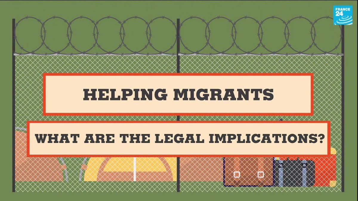 Helping migrants: What are the legal implications?