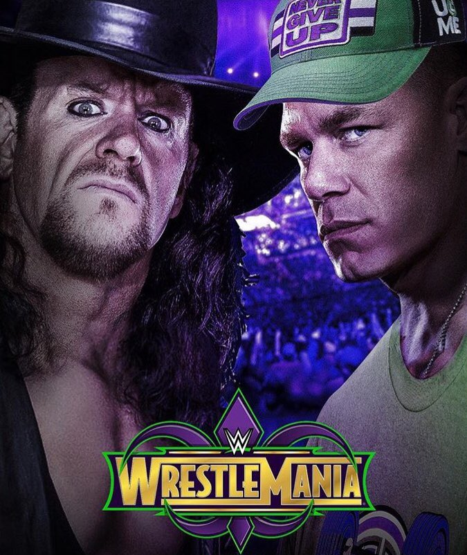 How Many of You Would  Like To See #JohnCena  Challenge #Undertaker  Or Vice Versa For  #WrestleMania 34  Tonight On #RAW25? https://t.co/9IcU4mdohL