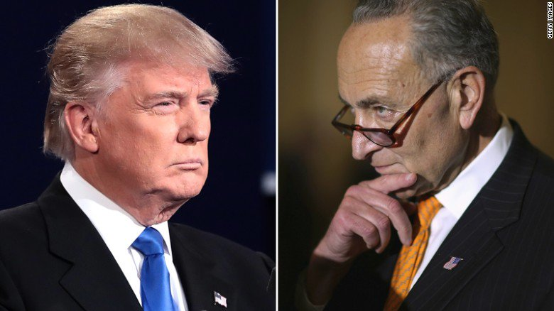 President Trump and Sen. Chuck Schumer came close to a deal. Then it fell apart. https://t.co/m5TnWSV9Wj https://t.co/t7mQfv9tnT