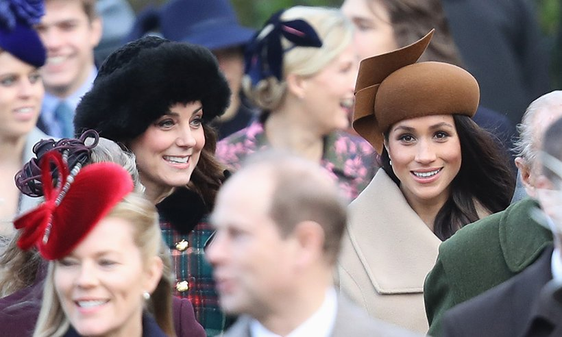 Have you noticed the subtle difference in the way Kate and Meghan pose for photos?