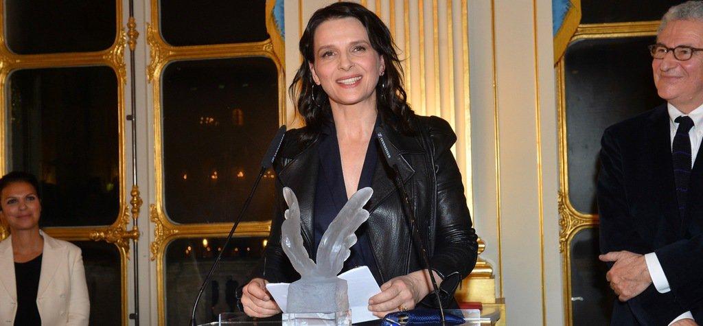 .@JulietteBinoche received @UniFrance's FrenchCinema Award