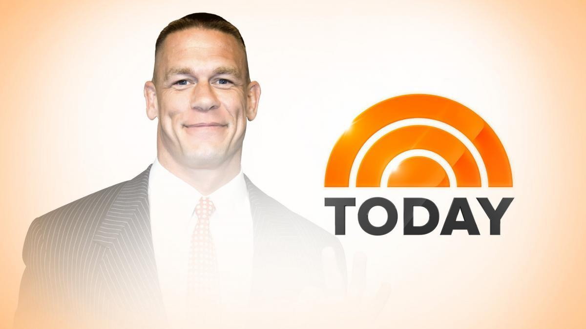 It's almost time! Catch @JohnCena co-host @nbc's @TODAYshow during the 10 a.m. ET hour! https://t.co/xIDsniZiCl