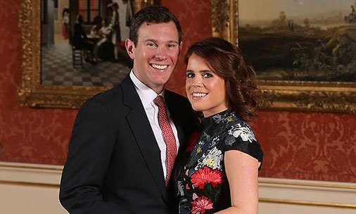 Princess Eugenie shows off engagement ring in official pictures: