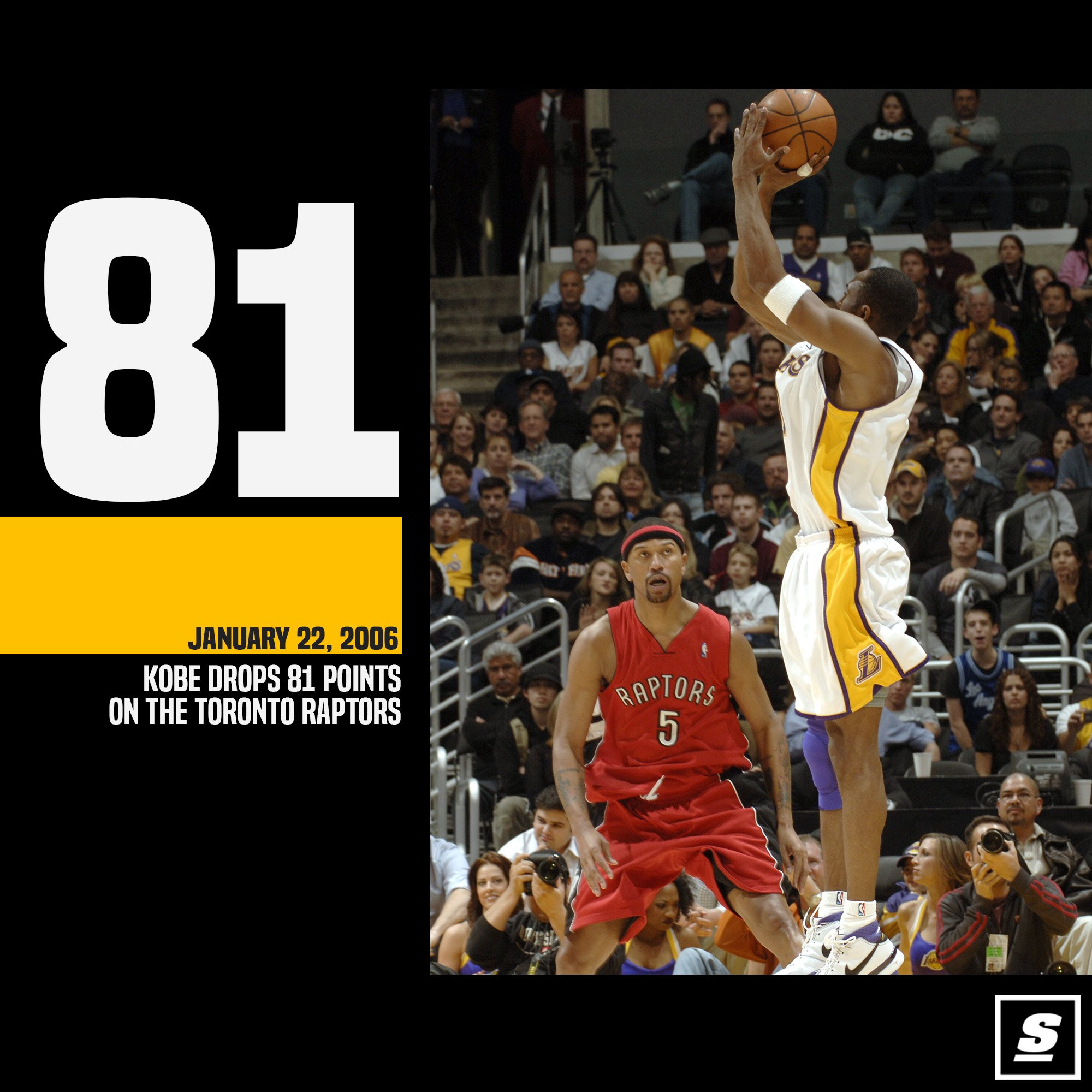 January 22, 2006.  Kobe torched the Raptors for 81 points. �� https://t.co/3fnxAT3iIa