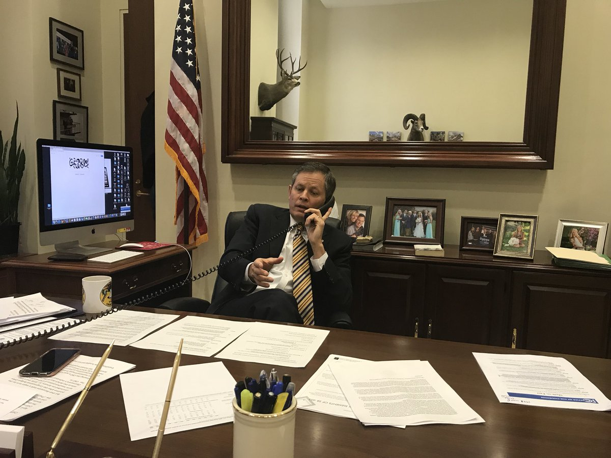 RT @SteveDaines: On the phone with @Newstalk730 hearing Montanans concerns over the government shutdown. https://t.co/JdAR9nxzIK