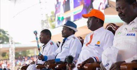 NASA invites Kenyans to Raila and Kalonzo's swearing-in ceremony