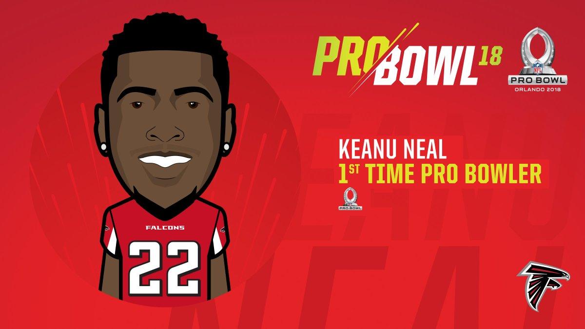 Keanu Neal is headed to Orland keanu neal