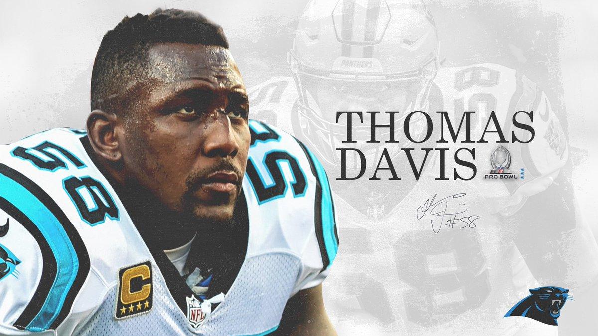 Thomas Davis is heading to the thomas davis