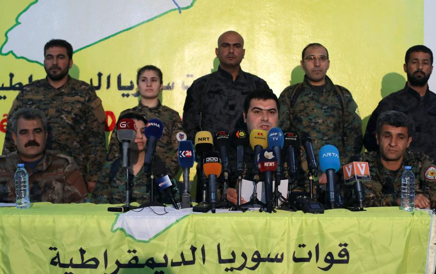 U.S.-backed SDF says it may send reinforcements to Syria's Afrin https://t.co/FTsNH3NEG9 https://t.co/JXFGTeTBFu