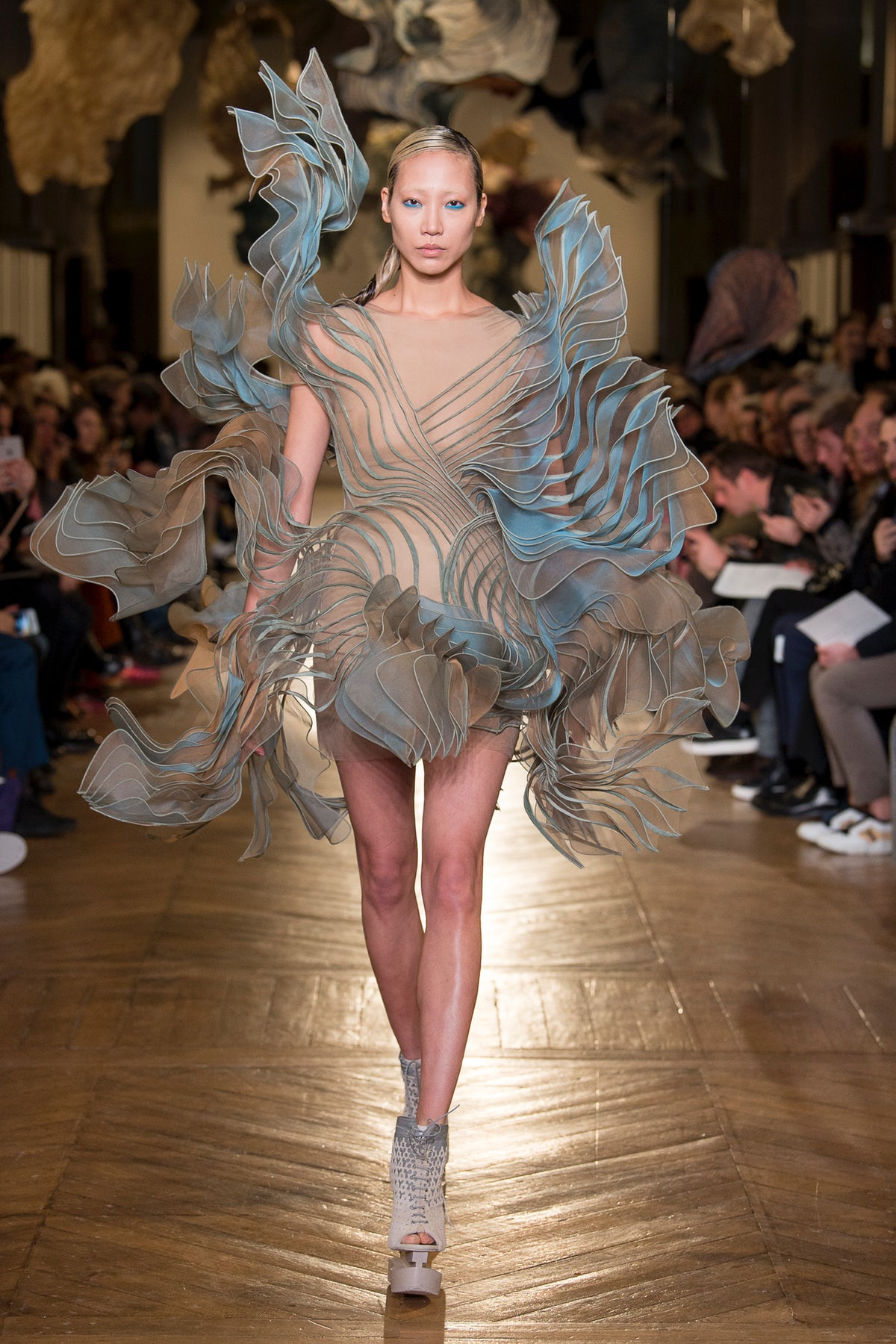 What do you think about the latest Iris Van Herpen collection? https://t.co/yIbY8jphC6 #BoFW https://t.co/605BSpOBxc