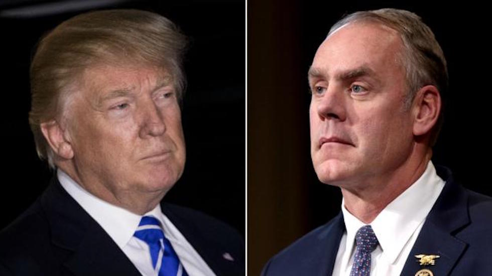 Trump angry at Zinke for exempting Florida from offshore drilling expansion: report https://t.co/EyM0RLBaZ3 https://t.co/7T9rt2xmo4