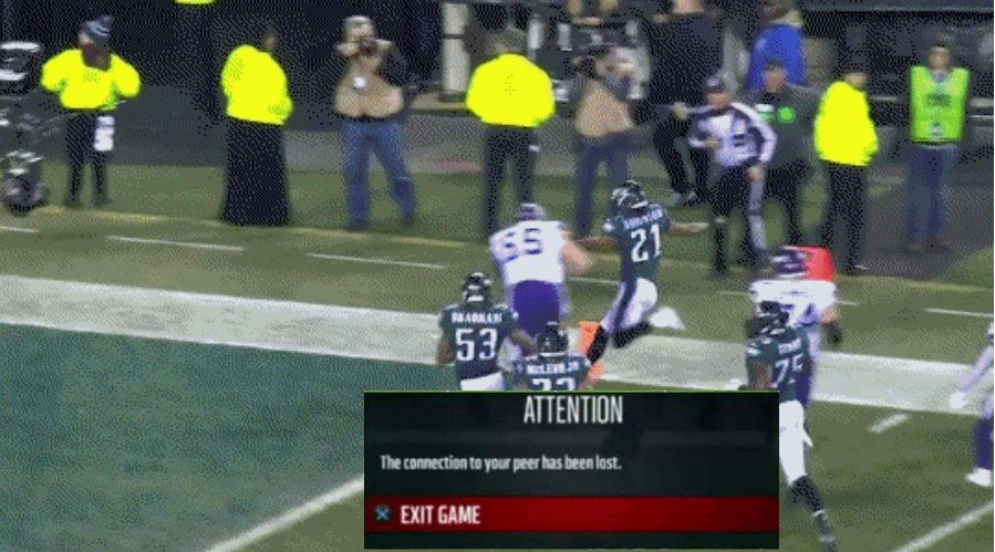 Let's be honest, this would have been better than 38-7. #Eagles #Vikings #Madden #Football https://t.co/pNWuxzxA9T