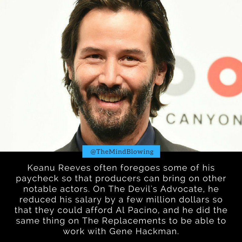 Another reason to love Keanu Reeves: https://t.co/l2dQl9jIrx