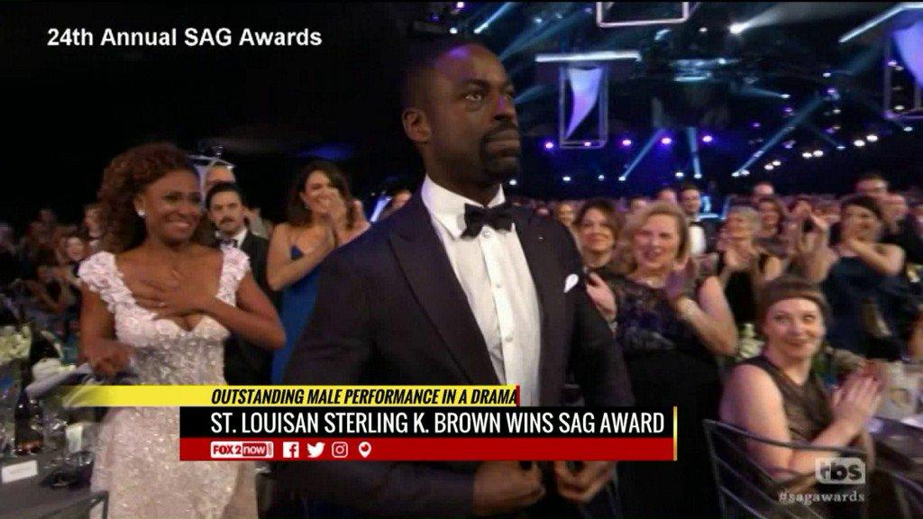St. Louisan Sterling K. Brown wins SAGAward