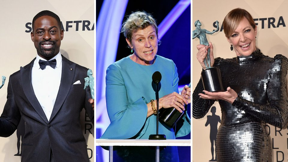 SAGAwards: @3Billboards, @NBCThisIsUs and @VeepHBO took top honors on Sunday night