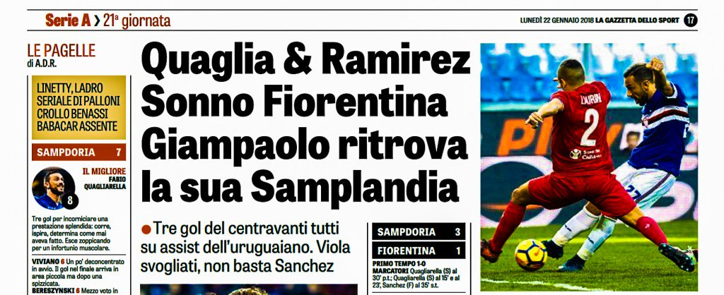 #SampFiorentina
