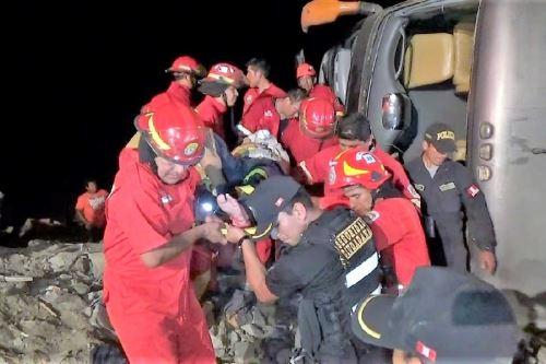 Cusco: accidente en vía Cusco-Arequipa deja más de 30 heridos https://t.co/ruIOVBJ4WH #PerúNoticias #Arequipa https://t.co/nTxEYi8QhZ