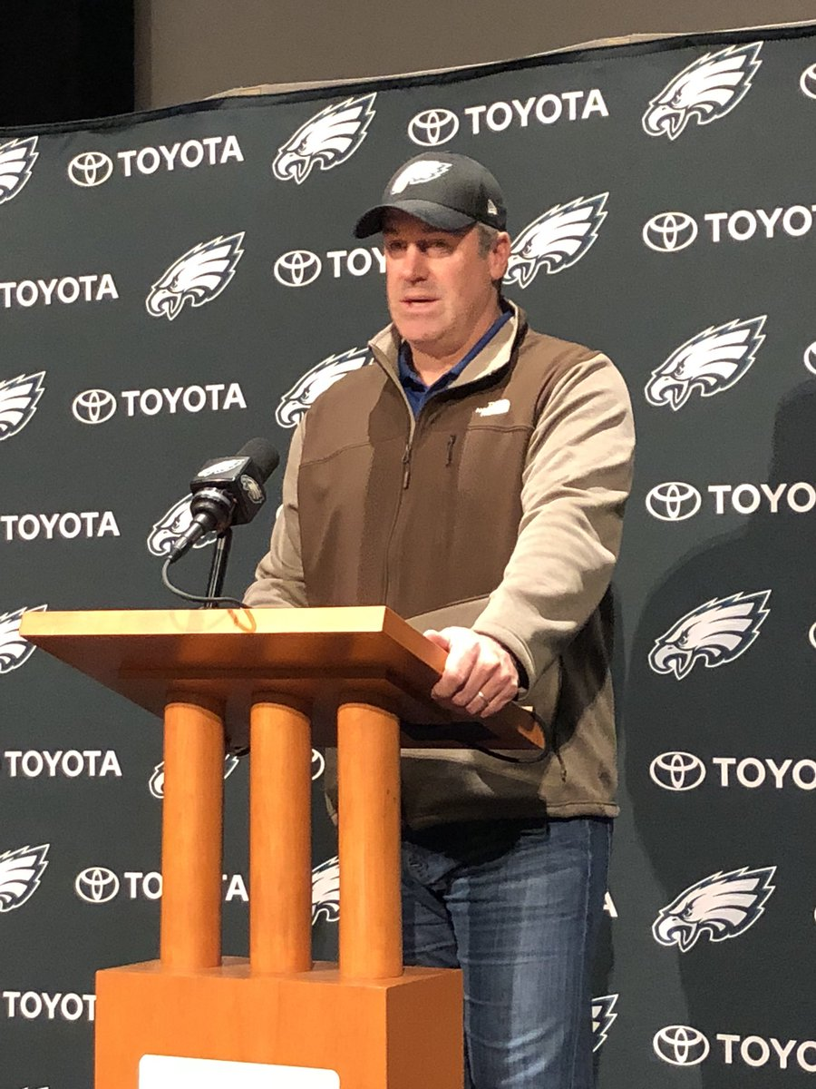 Pederson says it's going to be important to keep a normal schedule and routine for the players this week.   They want to stay as regular as possible knowing what's coming up in Minneapolis. @FOX29philly https://t.co/kFbkM83Tph