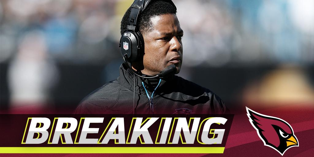 .@AZCardinals expected to hire Steve Wilks as head coach: https://t.co/xHaTroEyNY (via @RapSheet + @MikeGarafolo) https://t.co/7vZbq6Cfcn