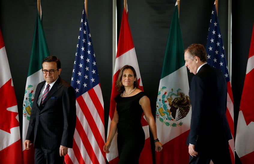 NAFTA's fate uncertain ahead of final round of talks in Montreal https://t.co/dK7Rps6T4C https://t.co/IogM4ofpJM