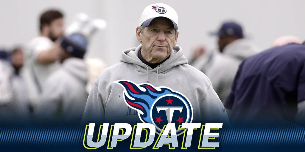 Dick LeBeau reportedly out as Titans defensive coordinator: https://t.co/XpowIhZGbg https://t.co/RPueoK0Elq