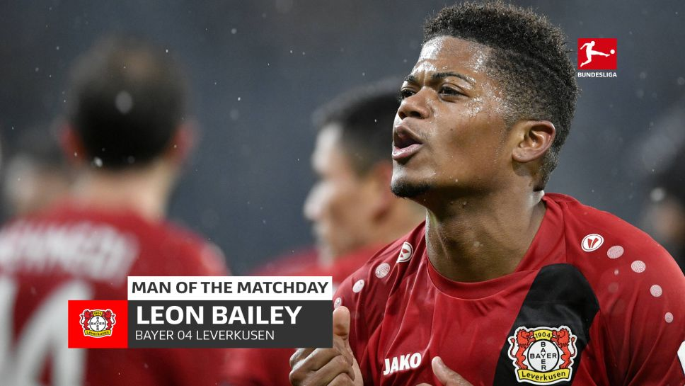 Congrats @leonbailey!  He's been named the #Bundesliga Man of the Matchday for MD 19! https://t.co/MZFHDex0I9