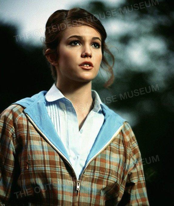Happy Birthday Diane Lane seen here as Sherri \Cherry\ Valance in The Outsiders 1983