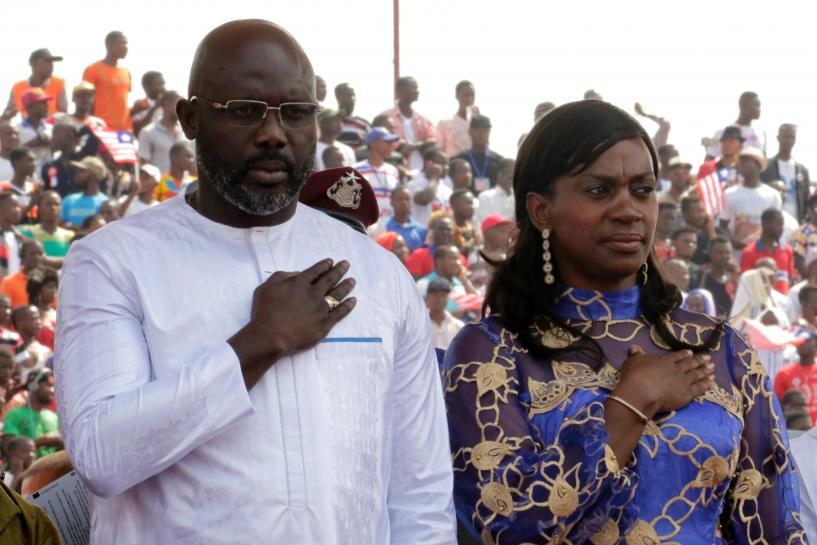 Weah sworn in as Liberia president, vows to end corruption https://t.co/yrcYr9Iicx https://t.co/pSeuPSe4Ci