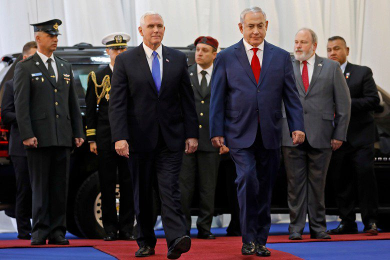 Pence's Mideast trip is a farewell tour to Israeli-Palestinian peace: https://t.co/FugysesZt0 https://t.co/G4cQ8qpoF7