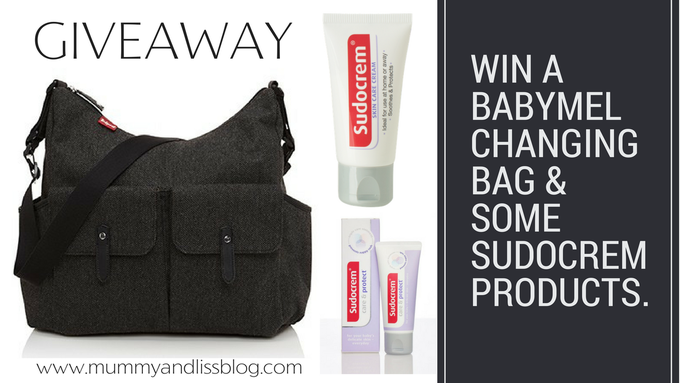 Win a Babymel Changing Bag worth £58 with Sudocrem. · Mummy & Liss