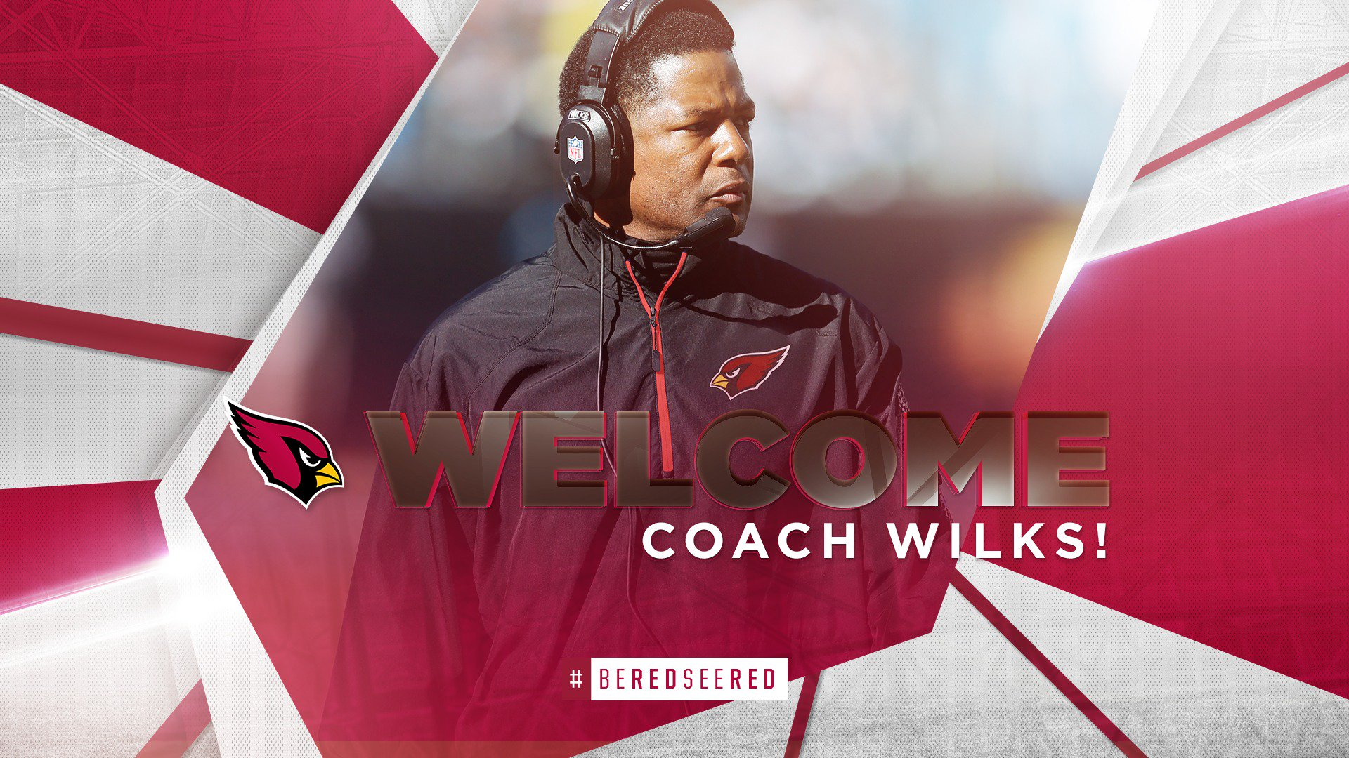 Welcome to Arizona, Coach Wilks!  MORE: https://t.co/Gc6rffTPVv   #BeRedSeeRed https://t.co/hQh30slJ5F