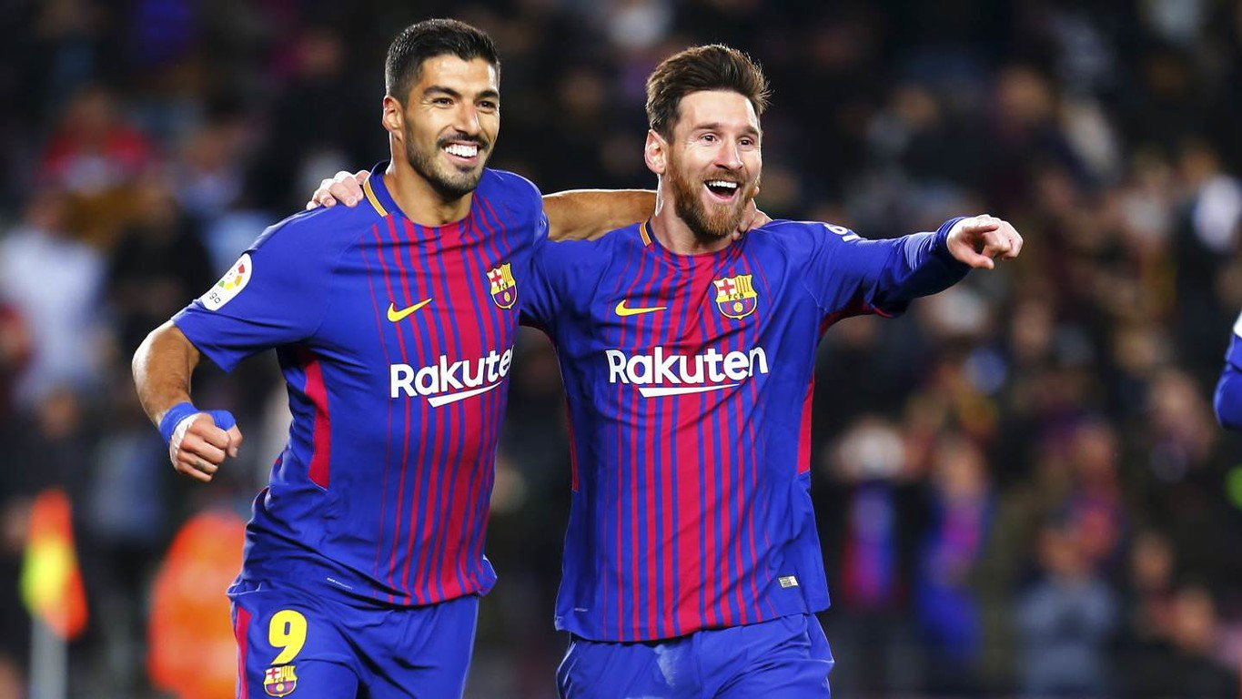 These two are unstoppable right now! ������ Leo #Messi and @LuisSuarez9 - the stats: https://t.co/3uJrNwfwGl https://t.co/ihDxrPlSBl