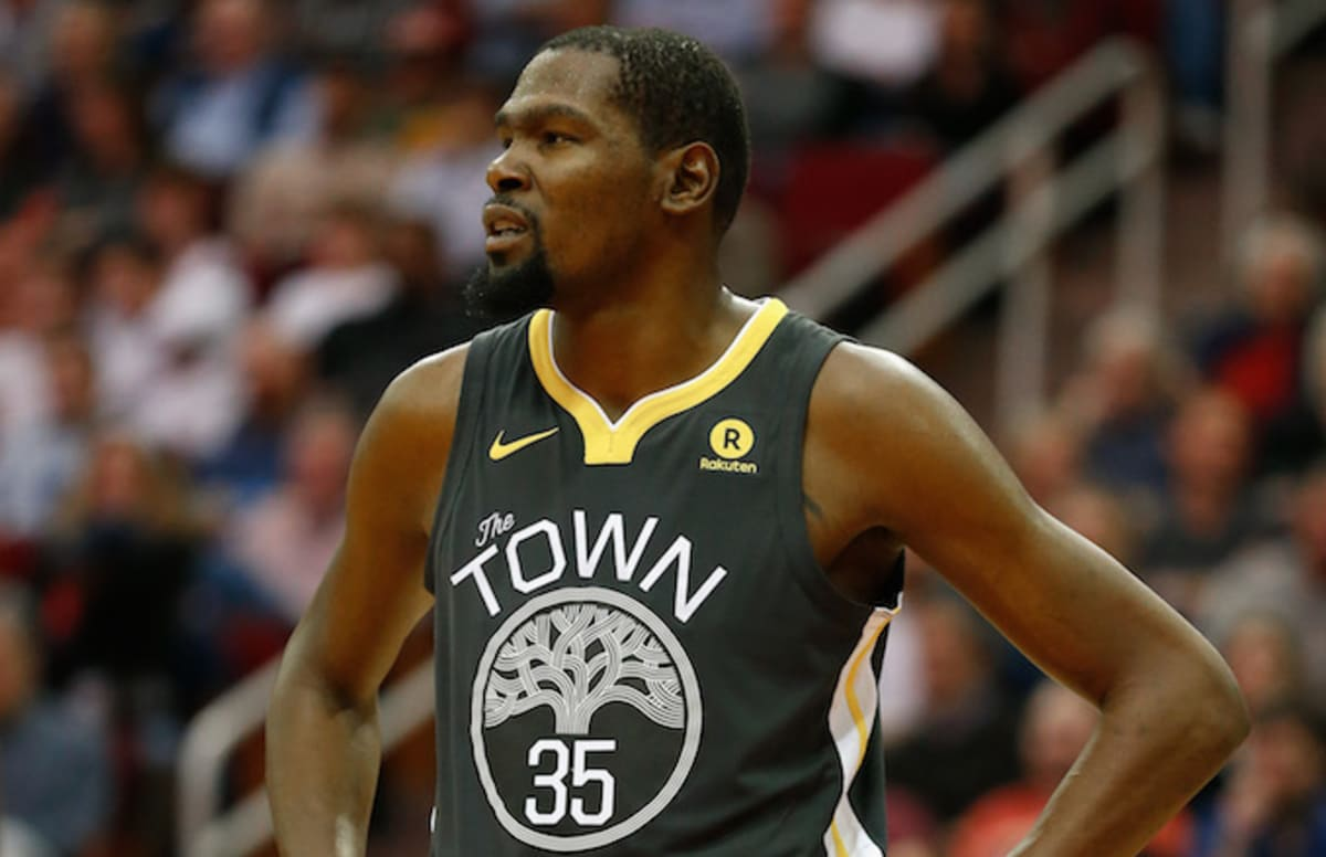 Kevin Durant rips Clint Capela after he says Rockets are better than Warriors. https://t.co/y8Wp0RTOCT https://t.co/p8BxN6wxmR