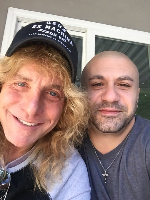 Happy Birthday to my brooooo Steven Adler from Guns N Roses!!! Hope you have a blessed day! Rock on dude