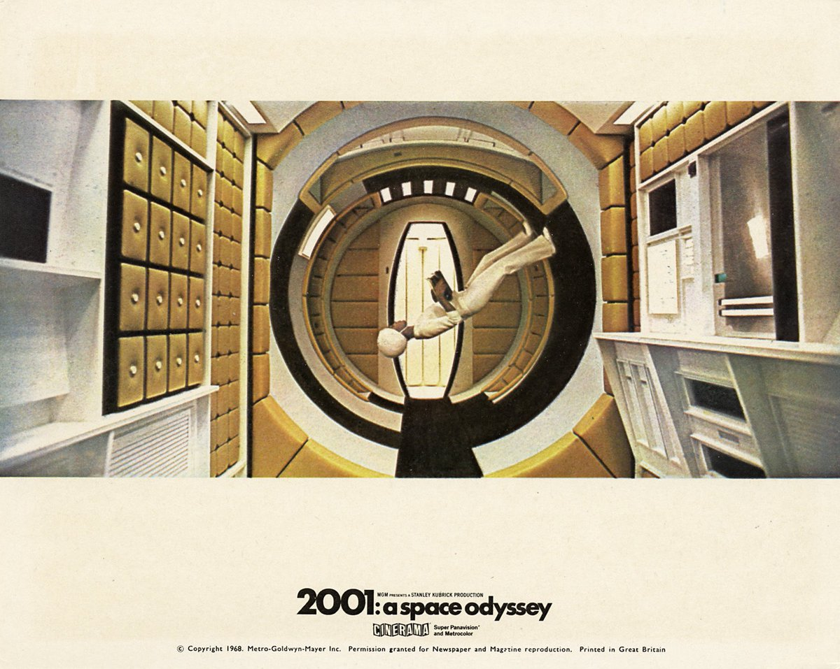 RT @HumanoidHistory: British publicity still for Stanley Kubrick's 2001: A SPACE ODYSSEY (1968) #scifi #space https://t.co/XyPM0GSdFT