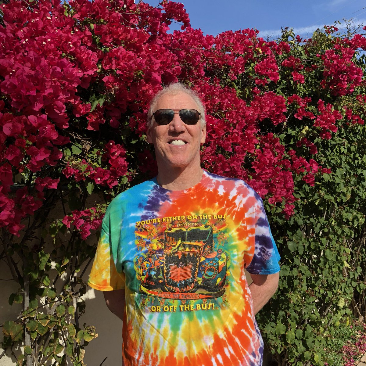 RT @BillWalton: springtime in San Diego,  I love colors,  like a rainbow,  let it bloom, beam and shine, https://t.co/k7HgUgafH2