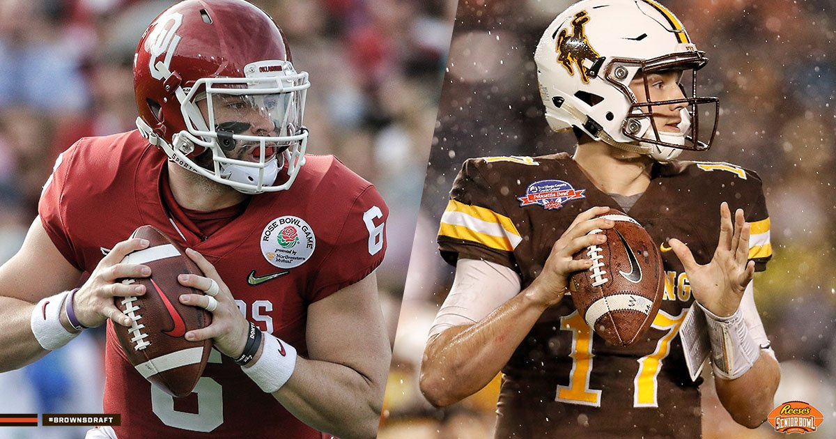 Browns to get a close look at Josh Allen, Baker Mayfield and other top QBs at @seniorbowl this week  📰 » https://t.co/lyZQgOi1a4  #BrownsDraft https://t.co/BnzQ3ocbCy