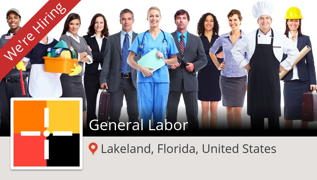 General #Labor (#job) wanted in #Lakeland. #Spherion https://t.co/U7KSwia5i6 https://t.co/iFkIDc0RTZ