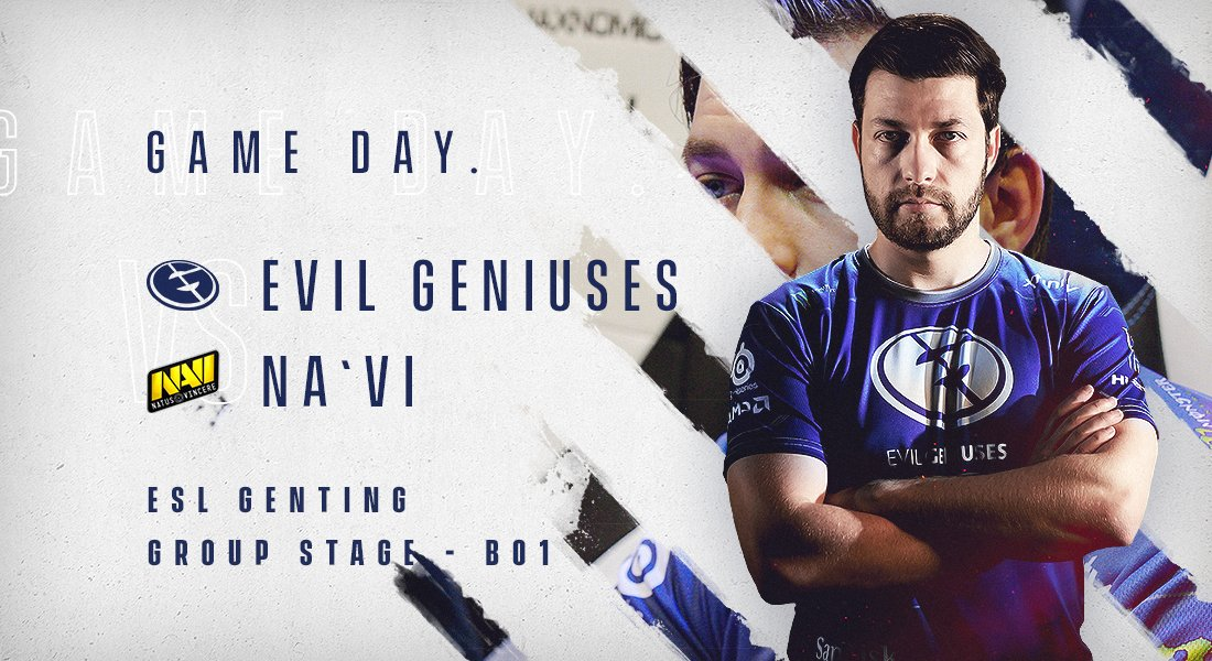 We continue our SEA Dota trip with #ESLOne Genting 2018! We'll be playing our first match of Group B against @Natusvincere later on.  RT and #BleedBlue! https://t.co/gctJ5H4J2N