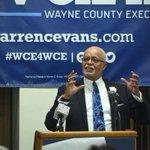 Wayne County Executive Evans to seek re-election