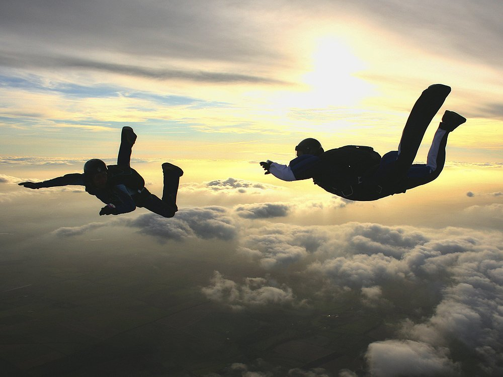 Skydiver killed after falling onto roof in California